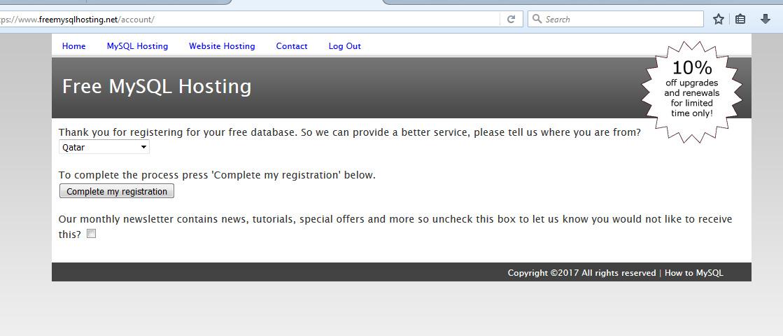 Free Mysql Database Online - Free Mysql Remote Hosting - ChillyFacts